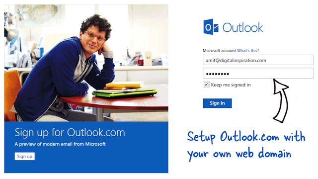 Use Outlook.com For Email With Your Personal Domain