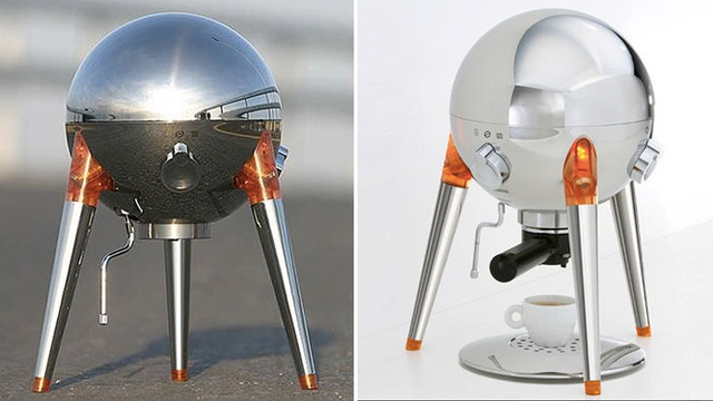 Is This Nasa's Next Lunar Lander, Or a Gorgeous Expresso Machine?