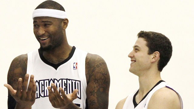 """Jimmer Got Moves, Dog. That **** Crazy."": DeMarcus Cousins Praises His Mormon Teammate"