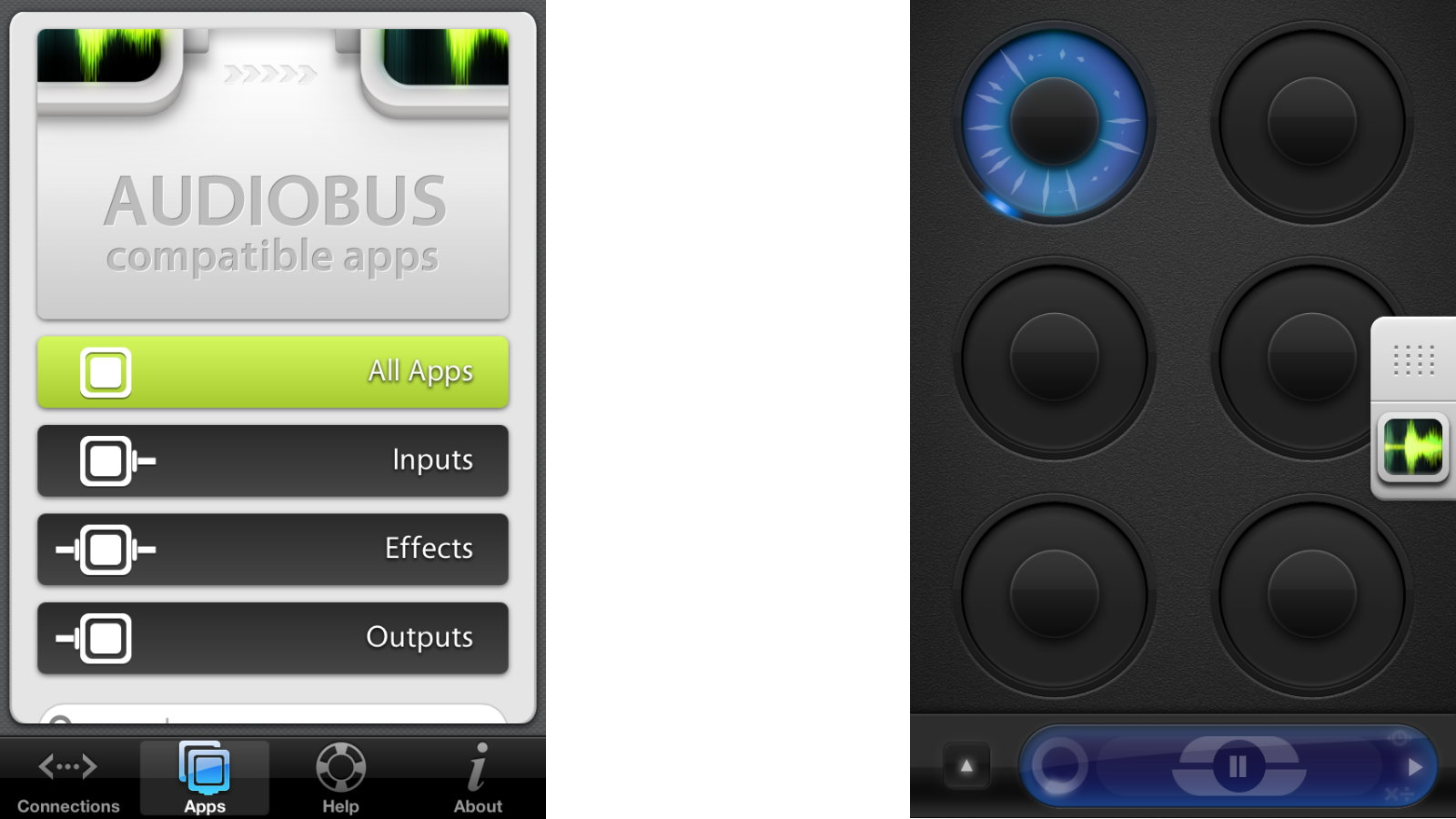 Click here to read Audiobus Just Turned iOS into a Recording Studio