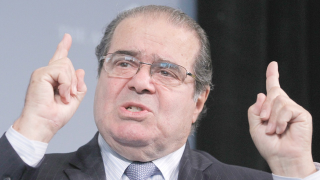 Resident SCOTUS Troll Antonin Scalia Parallels Between Homosexuality and Murder