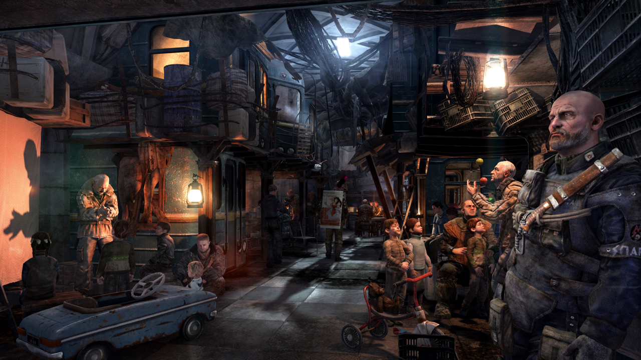 13 things you should know about metro last light kotaku. Black Bedroom Furniture Sets. Home Design Ideas