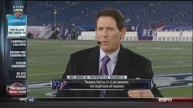 "We're Pretty Sure Steve Young Did Not Say The Texans Had ""…"