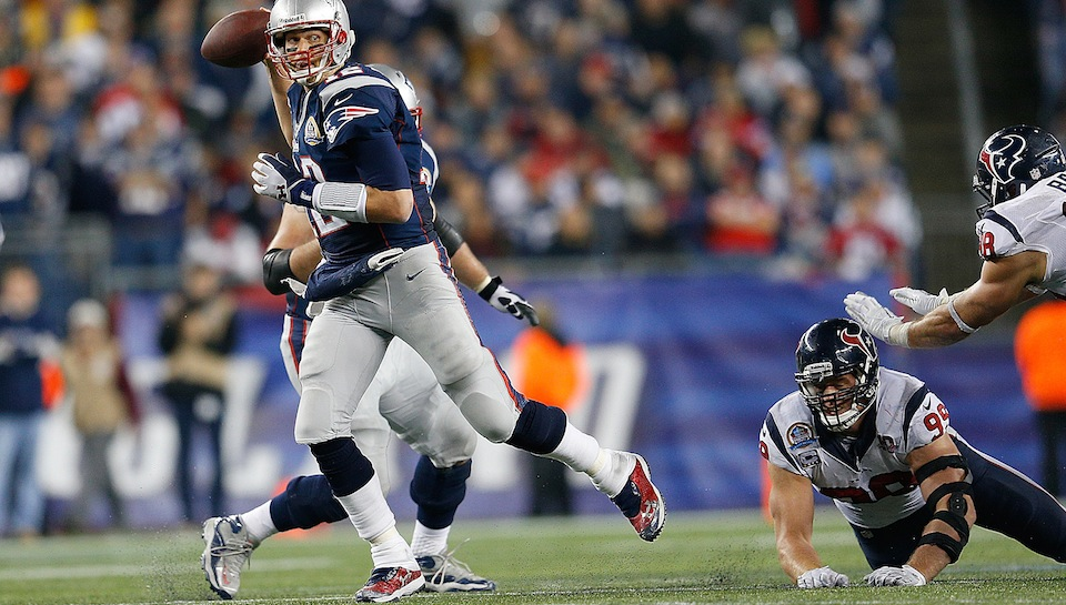The Patriots Did Not Shut Down J.J. Watt Last Night