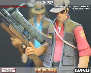 Giant Team Fortress Statue Sadly Does Not Include Tiny Jar Of Piss