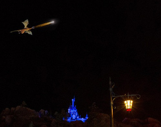 Disney World builds a giant, fire-breathing dragon that can FLY