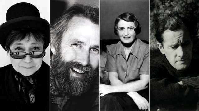 This pre-Internet chatroom conversation between Jim Henson, Ayn Rand, Yoko Ono and Sidney Nolan is fake. But it's amazing.