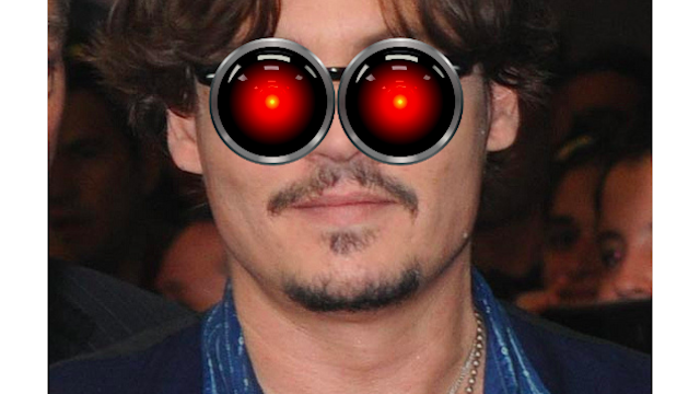Johnny Depp Plays A Computer In His Next Movie