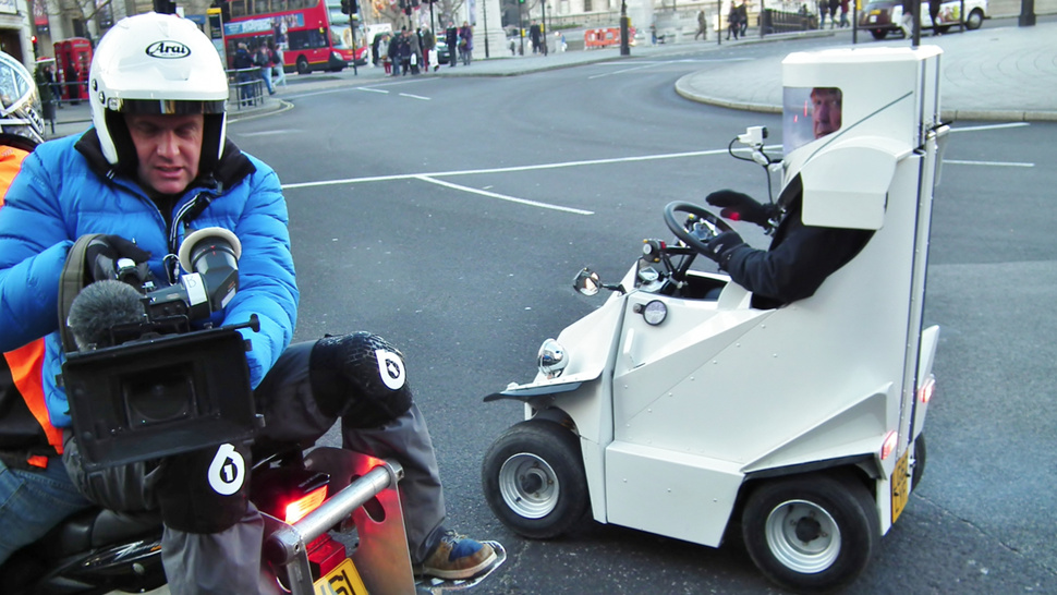 Why Is <i>Top Gear</i>'s Jeremy Clarkson Trapped In A Scooter?