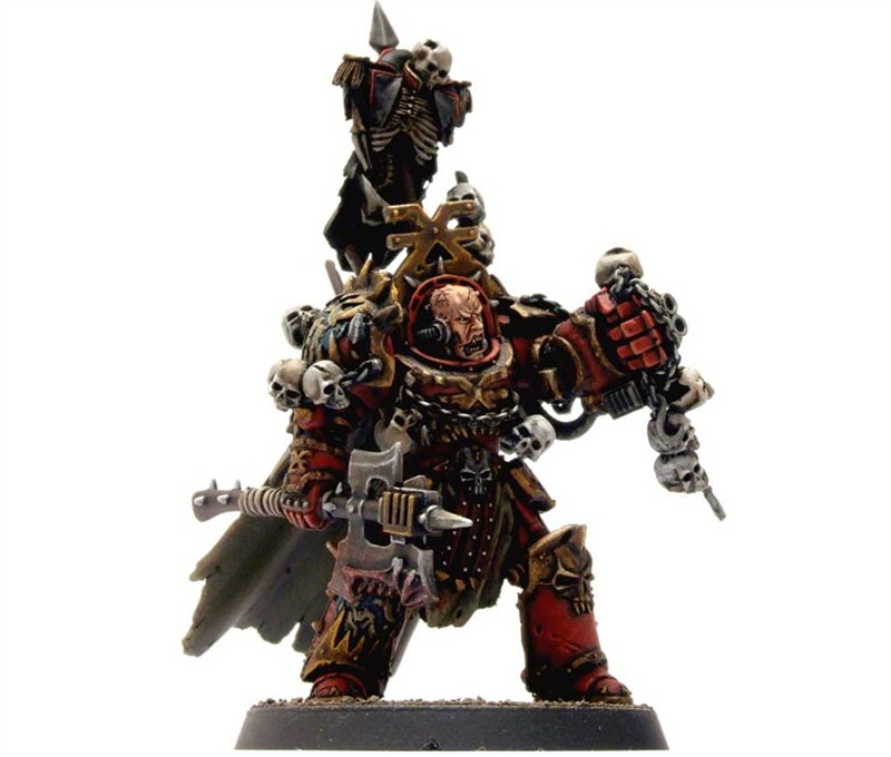 Matt Sterbenz Miniature Painting Forge World Avatar: Warhammer 40K Miniatures Painted To Within An Inch Of