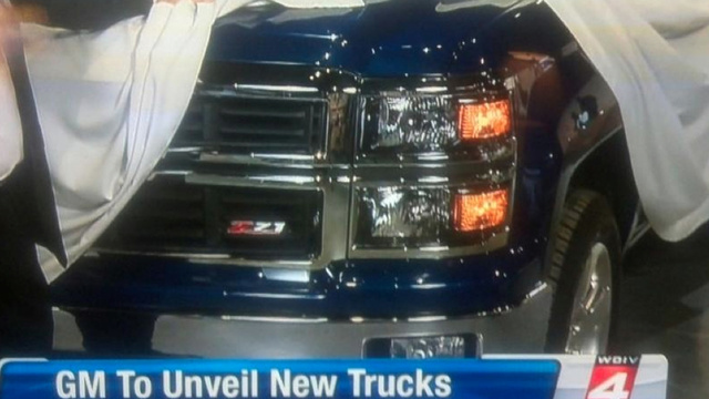 2014 Chevy Silverado: This Is Its Nose