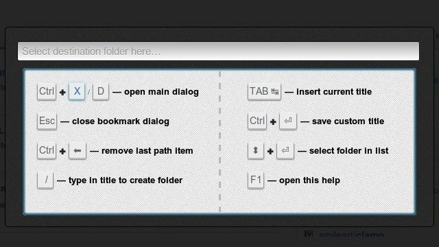 Bookmarx Adds Keyboard Shortcuts to All Your Bookmarking Actions