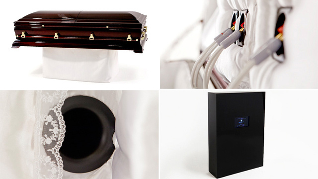 Sound System Coffin Lets Audiophiles Rock Out For Eternity
