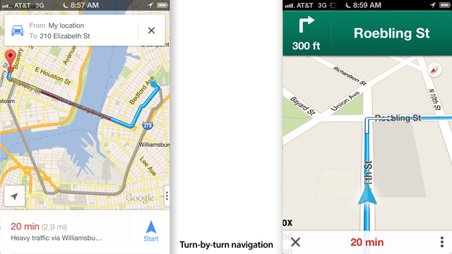 Google Maps for iOS Review: Maps Done Right
