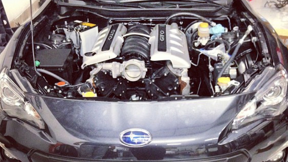 Is This The First Subaru BRZ With A V8?