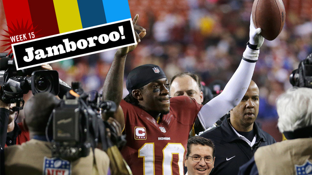 Robert Griffin III Will Make You Forget That Dan Snyder Is An Awful Person