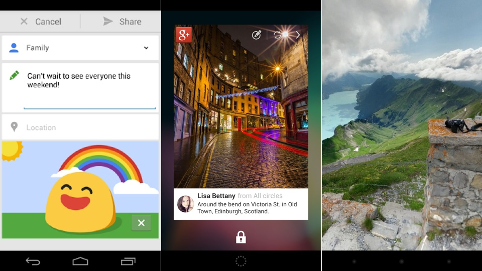 Google+ Update Adds GIFs On Android