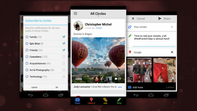 Google+ Adds Full-Size Photo Uploads, Hangout Support for Low Bandwidths, and More