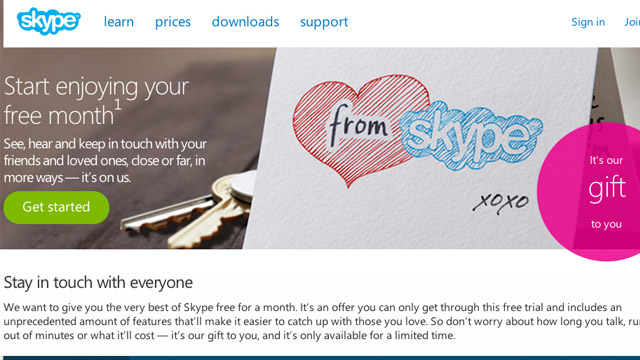 Click here to read Get a Free Month of Unlimited Worldwide Calling on Skype