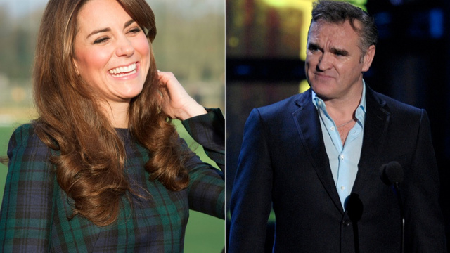 Big Mouth Strikes Again: Morrissey Blames Kate Middleton for Nurse's Suicide