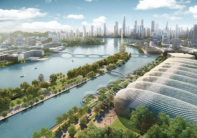 China's plan to build a massive 120 million-square-foot city — from scratch