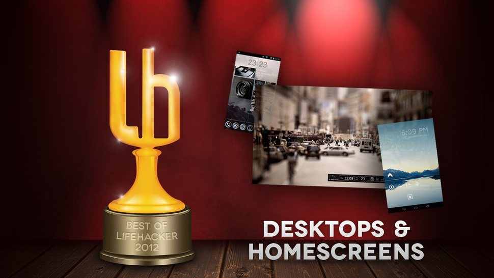 The Most Popular Featured Desktops and Home Screens of 2012
