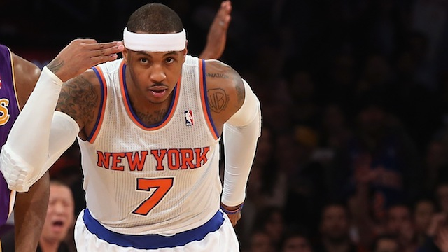 Carmelo Anthony Isn't Winning By Being Unselfish. He's Winning …