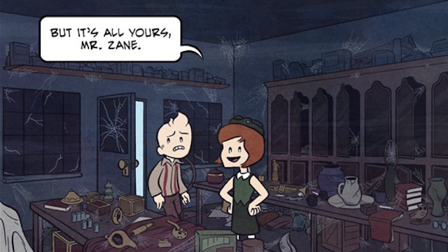 Saturday Webcomic: Broodhollow is the friendliest little town ever to harbor a Lovecraftian secret