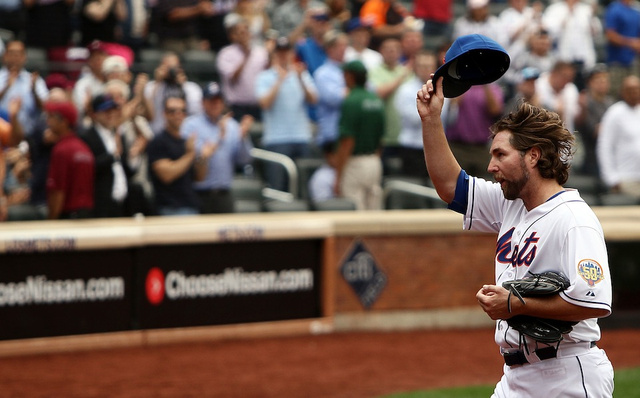The Mets Are Reportedly Planning To Trade R.A. Dickey Because They're $6 Million Apart In Contract Negotiations