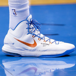 Kevin Durant Memorialized Sandy Hook Last Night With A Message On His Sneakers
