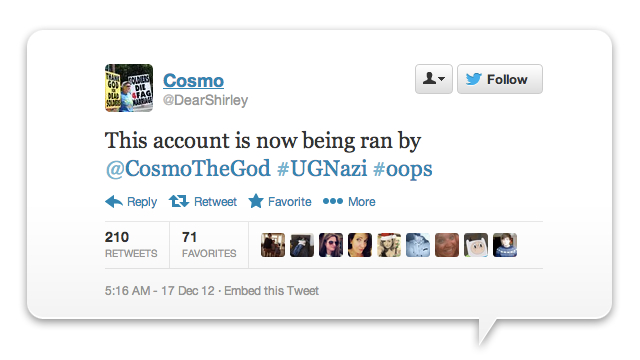 Click here to read Hackers Take Over Westboro Baptist Church Twitter (Updated)