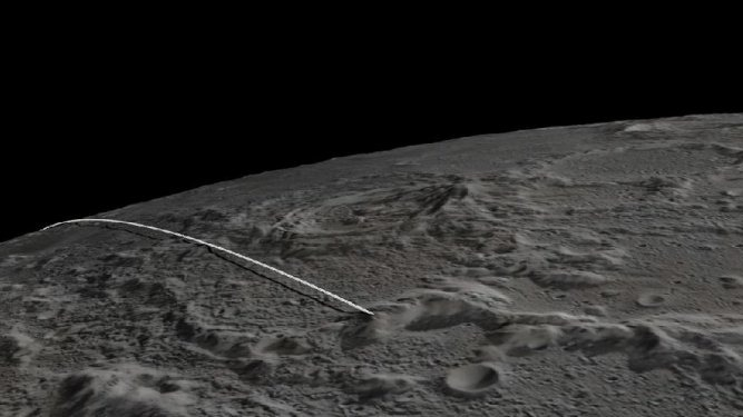 Watch NASA Slam Two Lunar Satellites Into The Moon