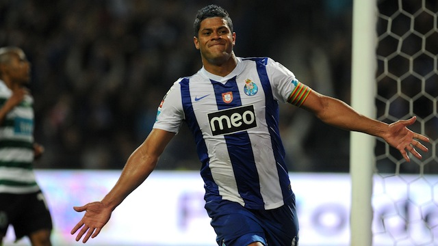 Hulk recently signed with Zenit St. Petersburg