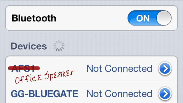 Click here to read Rename Bluetooth Devices on Your Jailbroken iPhone