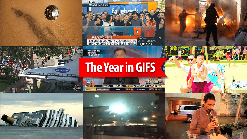 The Most Important Events Of 2012 In 16 GIFs