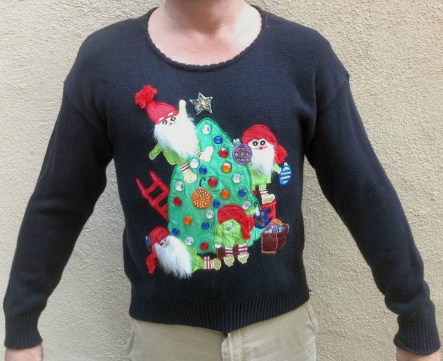 Awesome teched out christmas sweaters