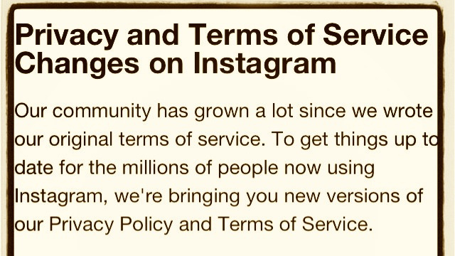Instagram's Absurd New Terms of Use Agreement Is Already Being Called Its 'Suicide Note'