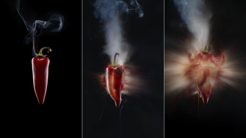 These Chilli Peppers Are Explosively Hot