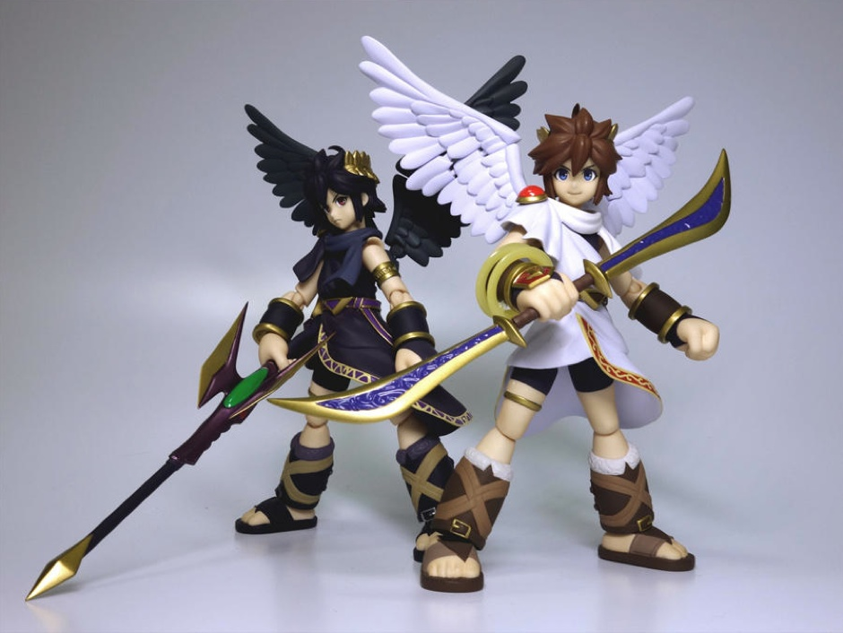 Here Have Some Kid Icarus Action Figures