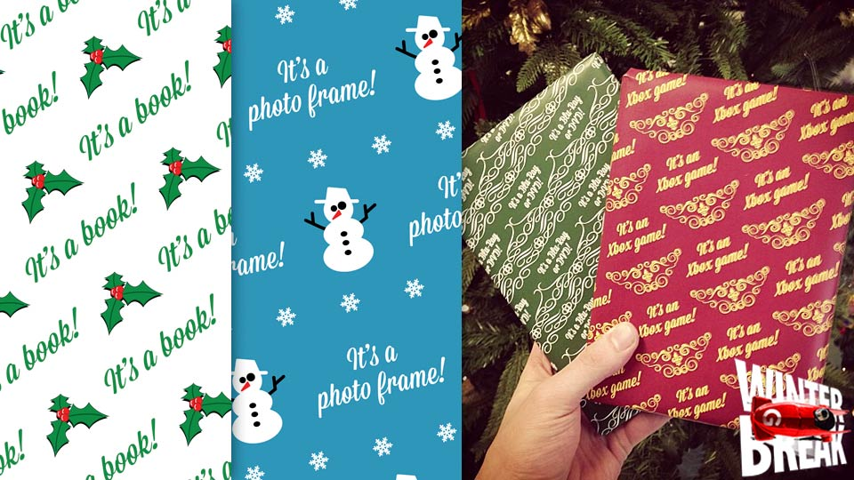 Wrap Your Gifts In Free Crapping Paper And Totally Ruin The Surprise