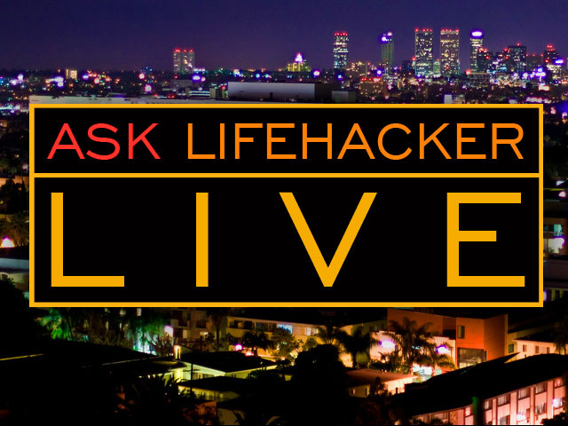 Ask Lifehacker Live: Dachis Is In (Update: Done)