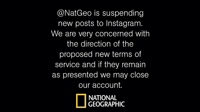 National Geographic Suspends Posts On Instagram