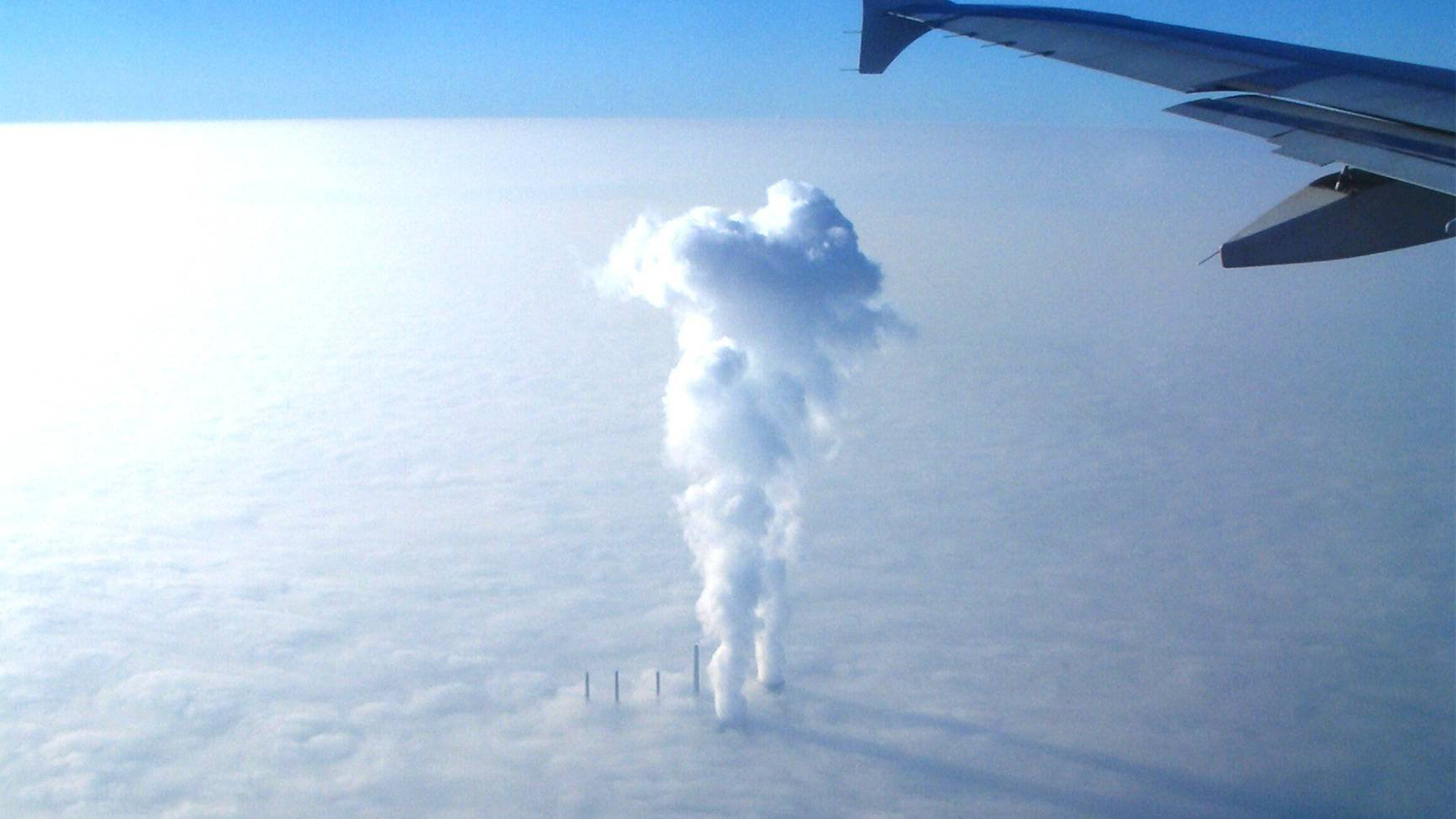 So This Is How They Make Clouds