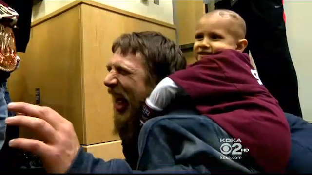 WWE's Daniel Bryan Tapping Out To A 7-Year-Old Cancer Patient Is Just As Adorable As It Sounds