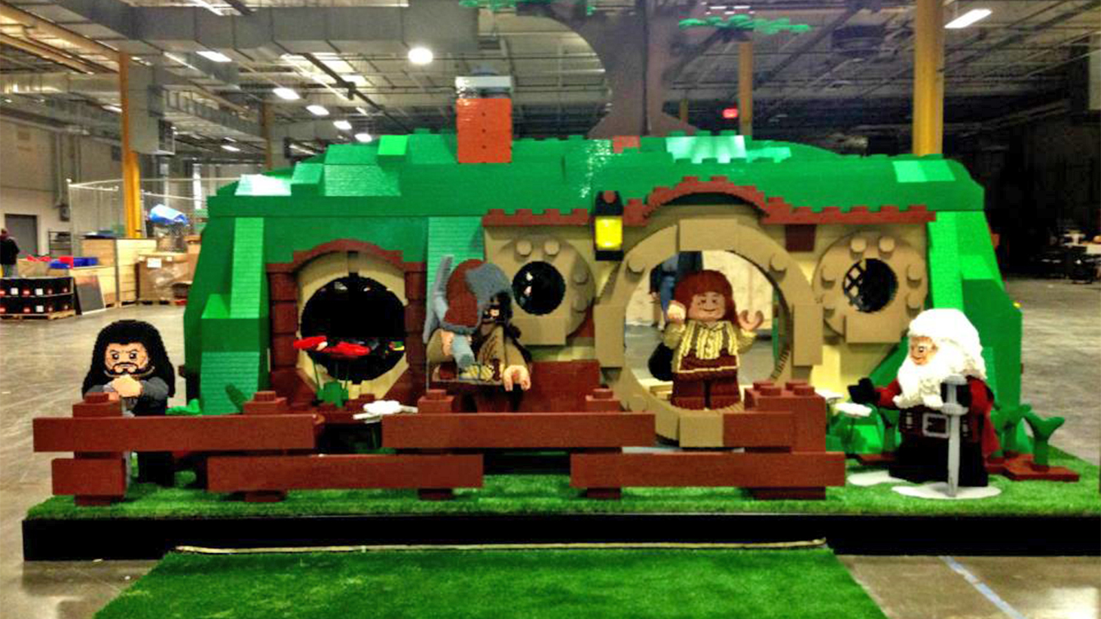 Gathering? . Check out all the photos at Lego?s Facebook page
