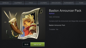 Now The Bastion Narrator Can Announce Your Dota 2 Game