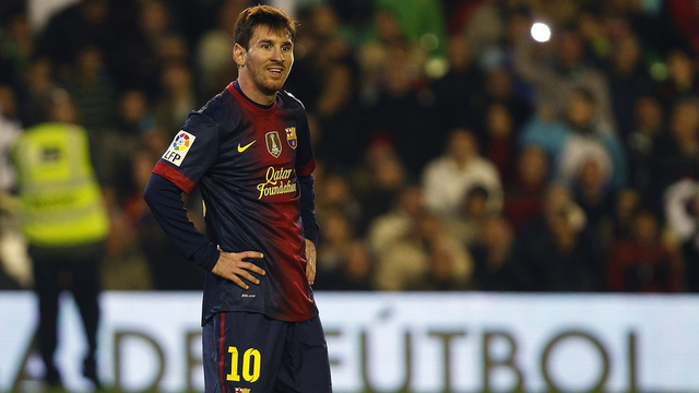 Lionel Messi Named The Third-Best Argentine Athlete Of 2012