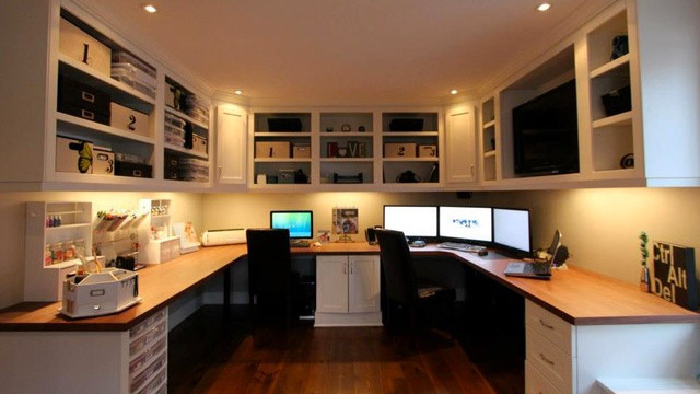 Click here to read The Custom Cabinets Workspace for Two