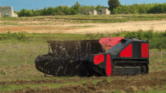 This Automated Land Mine Hunter Finds Its Explosive Quarry by Flailing About
