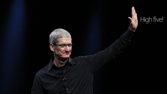 Tim Cook Is The Runner-Up In Time's Person Of The Year